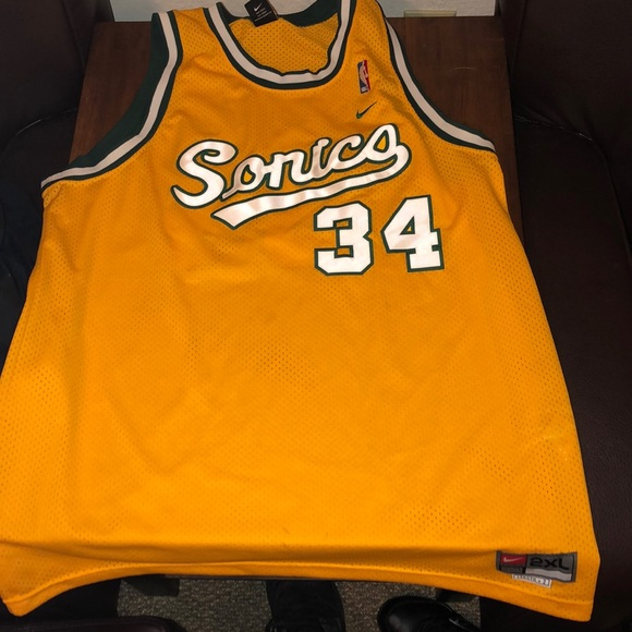 check out 00da0 70945 Seattle SuperSonics Ray Allen Jersey NWT